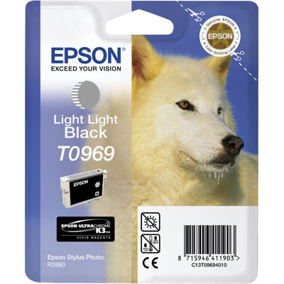 Epson T0969 light light black ink cartridge ORIGINAL
