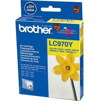Brother LC-970 Yellow Ink Cartridge Original