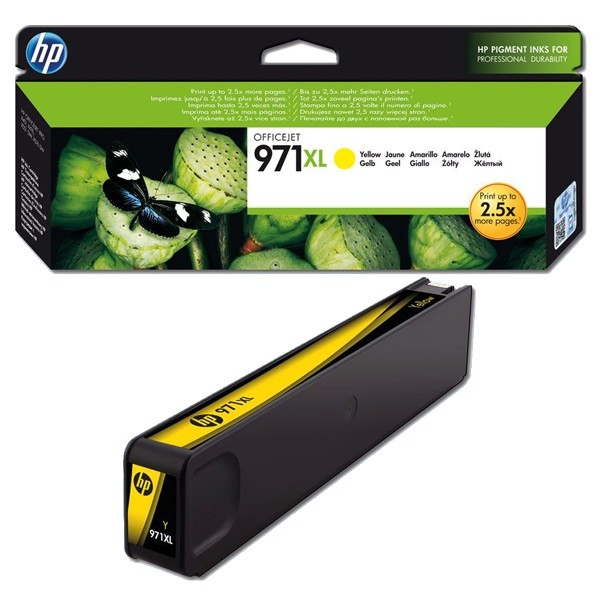 HP 971XL yellow high-cap ink cartridge Original HP