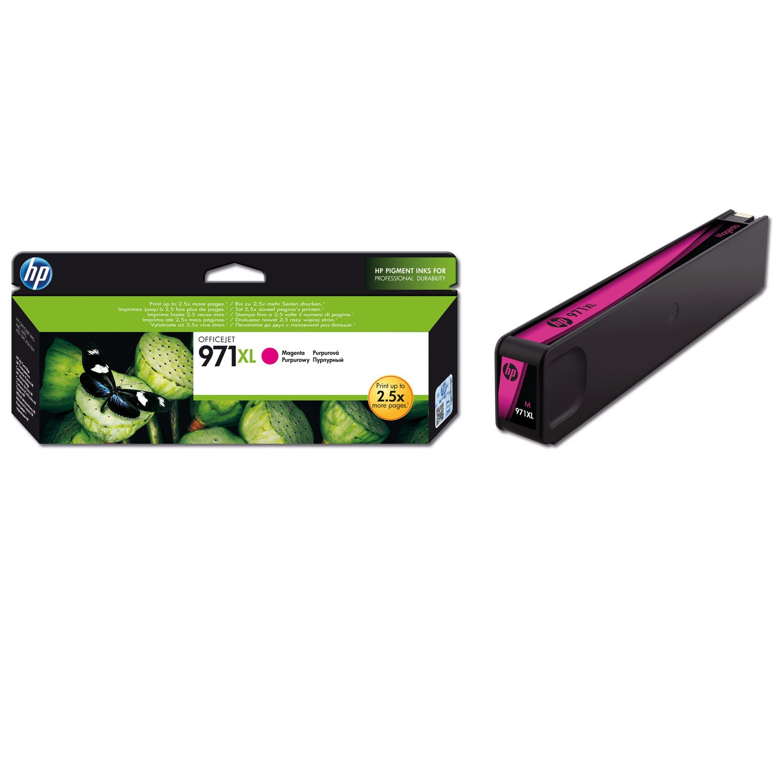 HP 971XL magenta high-cap ink cartridge Original HP