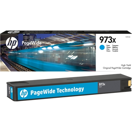 HP 973X cyan high-cap ink cartridge original HP
