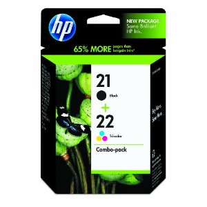HP 21 And HP 22 Twin Pack Original Ink Cartridges
