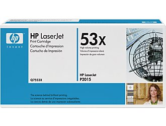 HP Q7553x LaserJet Black Print Cartridge  Original 7000 Page Yield