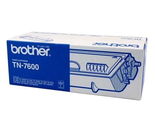 Brother TN-7600 Black Toner Original