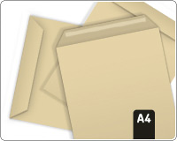 A4 Envelopes Brown Peel N Seal 15 Pack