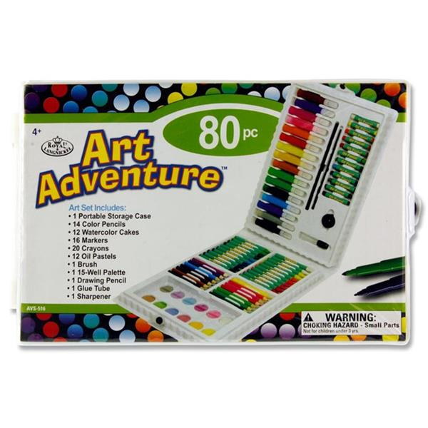 80pce ART ADVENTURE SET
