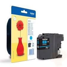 Brother LC121C cyan ink cartridge original