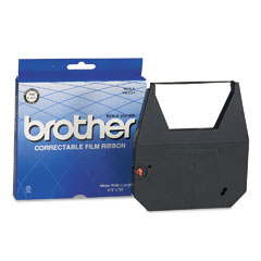 Brother 7020 Black Correctable Ribbon Cassette