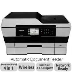 Brother MFC-J6520DW A3 Colour Inkjet Wireless All In One Printer