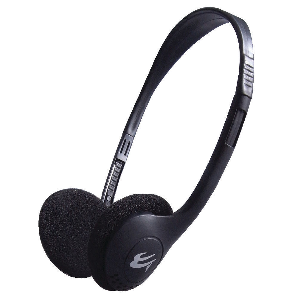 Economy Stereo Headset With In-Line Microphone