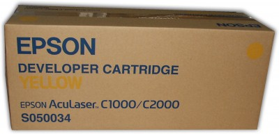 Epson S050034 yellow toner ORIGINAL