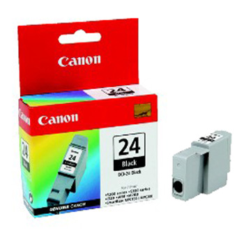 Canon  BCI-24 Black Ink Cartridge Original