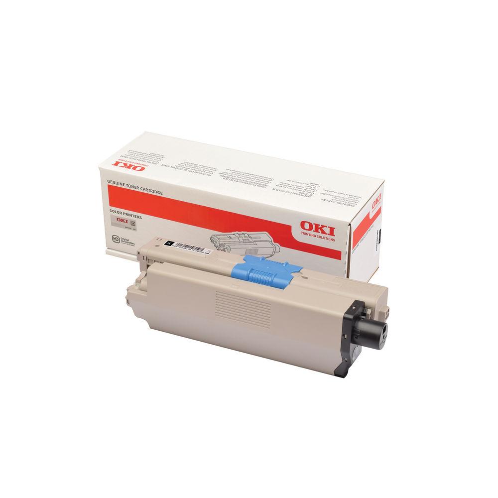Oki C332 Black Toner MC363 3k 46508712