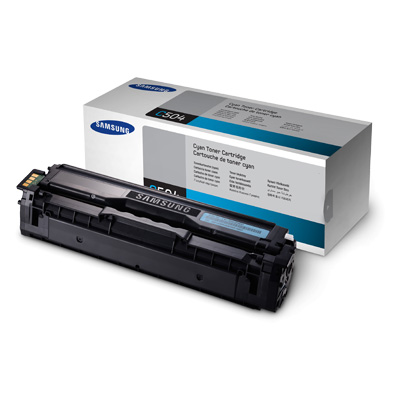 Samsung CLT-C504S cyan toner ORIGINAL