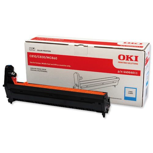 Oki 44064011 Cyan Drum Unit Original