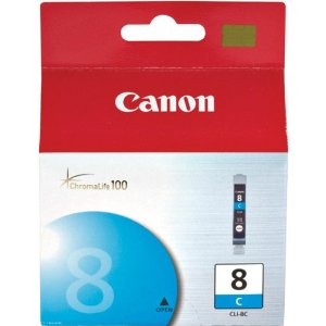Canon CLI-8 Cyan Ink Cartridge Original