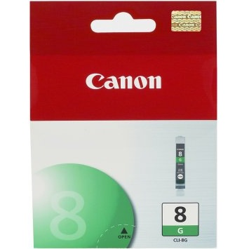 Canon CLI-8 Green Photo Ink Cartridge  Original