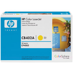 HP CB402A yellow toner ORIGINAL - HP 642a Toner Original