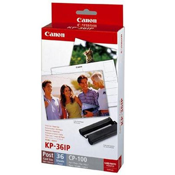 Canon KP-36IP Ink Cartridge Plus Photo Paper