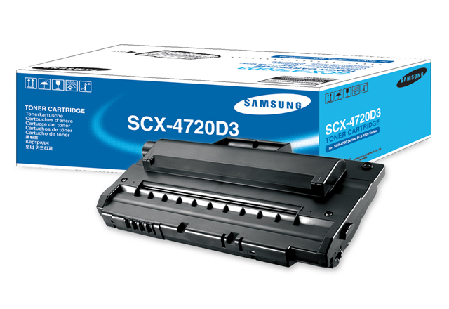 Samsung Scx-4720D3 Black Toner Original
