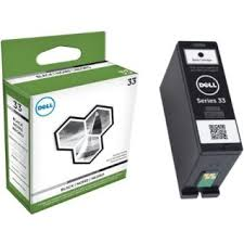 Dell Series 33 extra high capacity black ink cartridge original