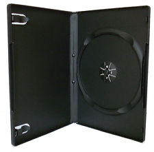 Dvd Cases Black Single