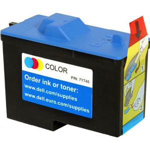 Dell 7Y745 Colour Ink Cartridge Original Dell Series 2 Colour