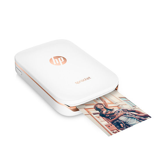 HP Sprocket Photo Colour Printer Bluetooth White X7N07A