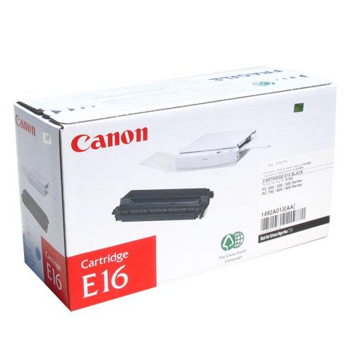 Canon E16 Black Toner Original 2000 Page Yield