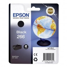 Epson T266 black ink cartridge Original