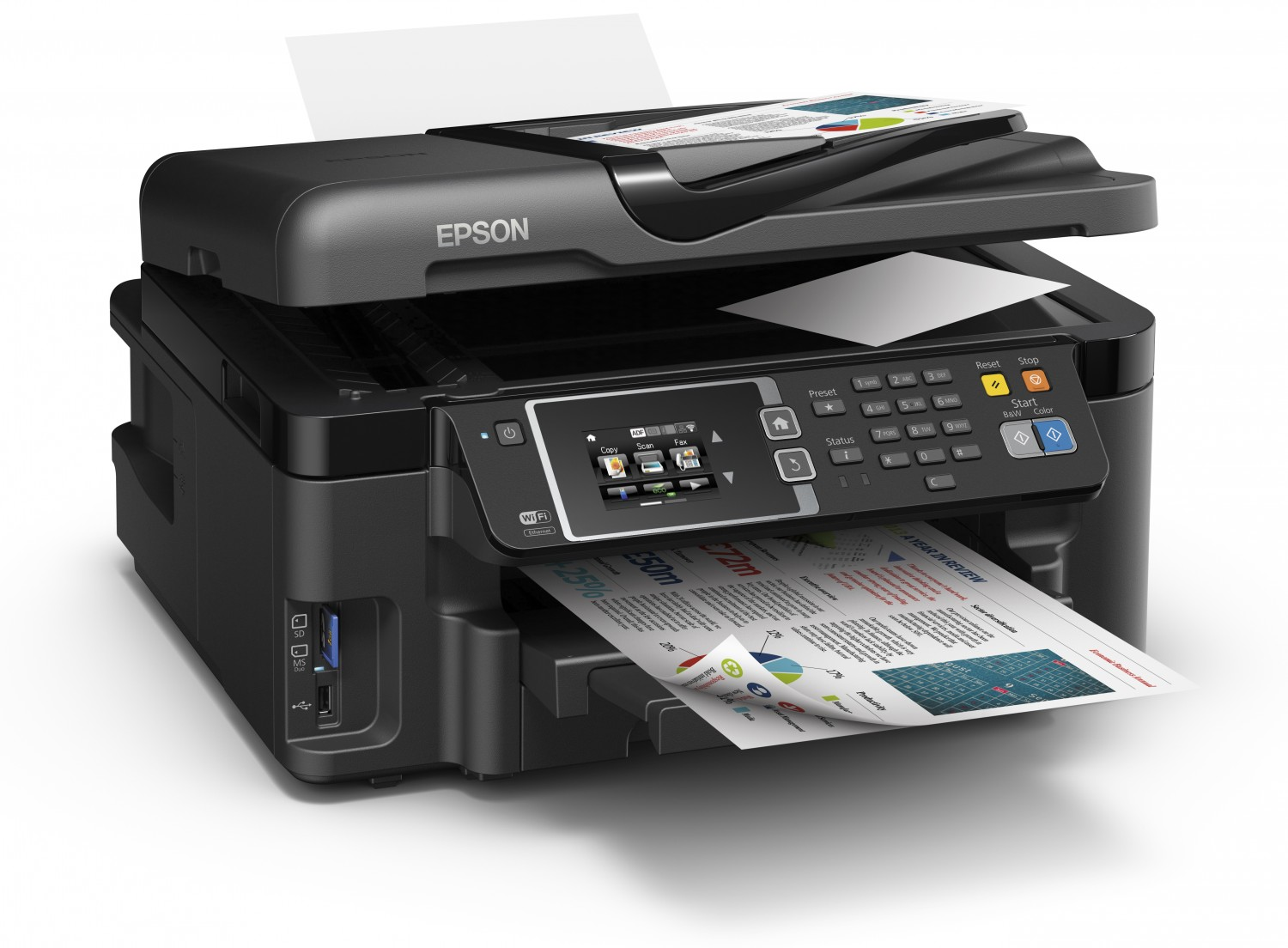 Epson WorkForce WF-3620 All-in-One Printer Wireless