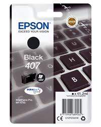 Epson 407 black ink cartridge original