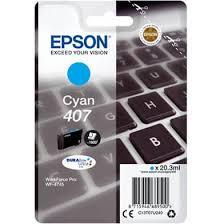 Epson 407 cyan ink cartridge original