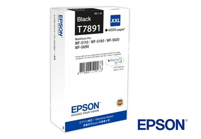 Epson T7891 Black XXL Ink Original
