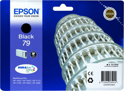 Epson T7911 black ink cartridge original Epson 79 Original
