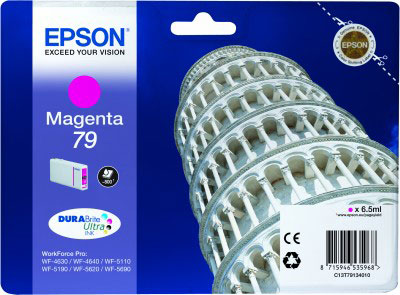 Epson T7913 magenta ink cartridge original Epson 79