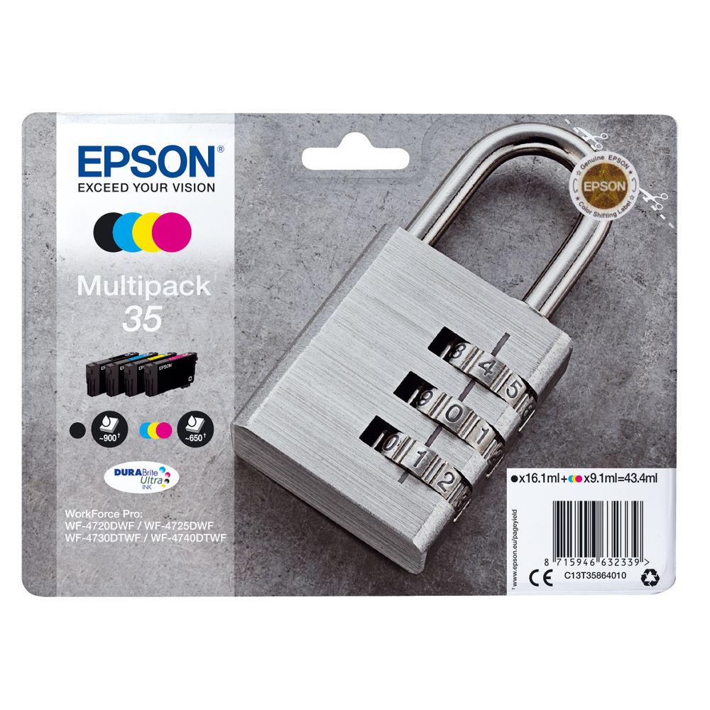 Epson 35 Multi Pack Orignal 4 Pack