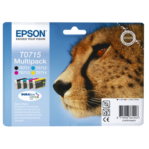 Epson TO715 Multi Pack Original