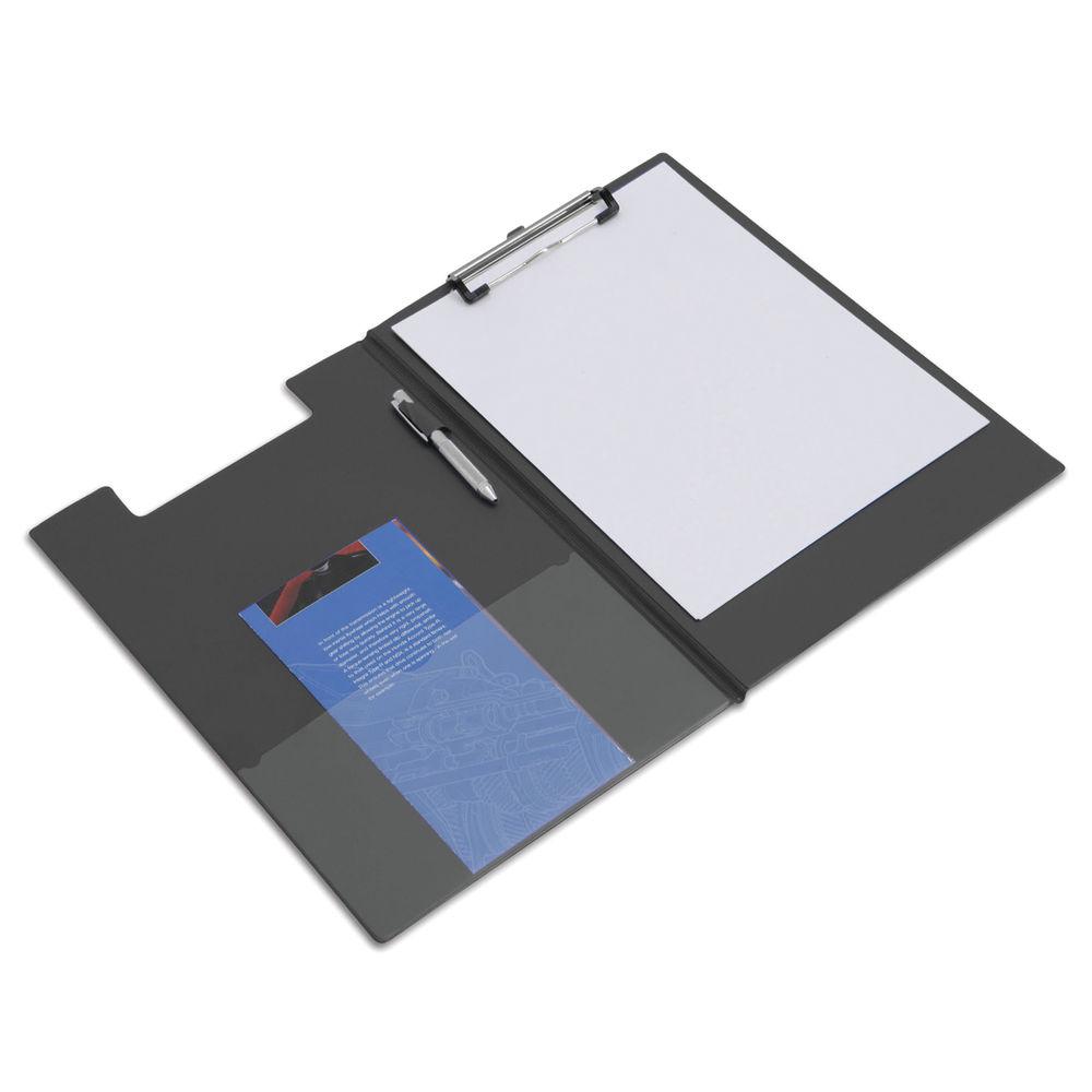 Foldover Clipboard Foolscap Black