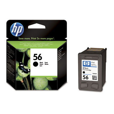 Hp 56 Black Ink Cartridge Original