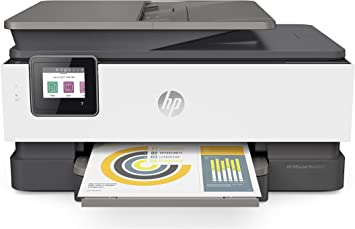 HP OfficeJet Pro 8025 All-in-One A4 Inkjet Printer with WiFi 4 in 1