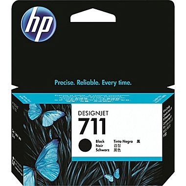 HP 711 black ink cartridge original CZ129A