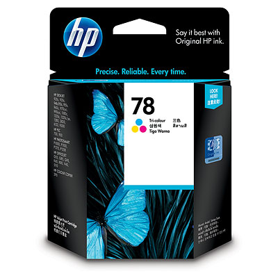 Hp 78D Colour Ink Cartridge Original
