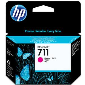 HP 711 magenta ink cartridge original CZ131A