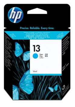 Hp 13 Cyan Ink Cartridge Original