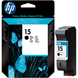 Hp 15 Black Ink Cartridge Original