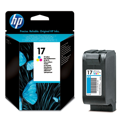 Hp 17 Tri Colour Ink Cartridge Original
