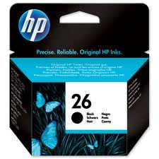 HP 26A Black InkJet Cartridge 40ml original