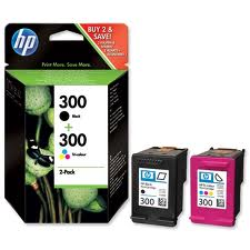 Hp 300 Black -HP 300 Colour 2 Pack Original