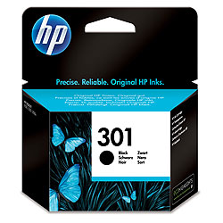 Hp 301 Black Ink Cartridge Original